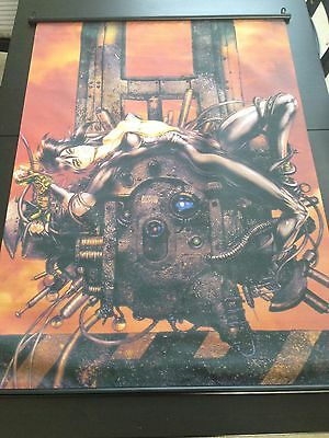 Masamune Shirow Ghost In The Shell Vintage Fabric Wall Scroll Anime Art Poster 29 99 Picclick