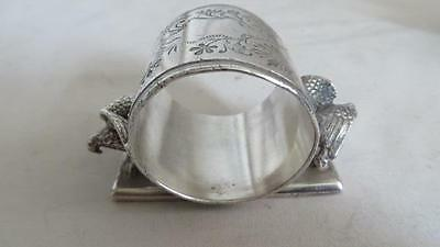 Victorian Silver Plated Eagles  Napkin Ring Middletown Plate Co. #74         #24