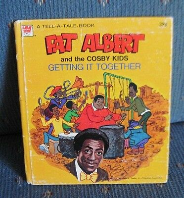 "Vintage Whitman ""Tell-A-Tale"" Childs Story Book - Fat Albert And The Cosdy Kids"