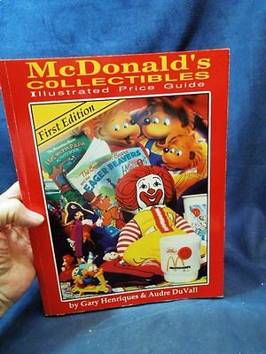 1St Edition Mc Donald's Collectibles Illustrated Price Guide Henriques & Du Vall