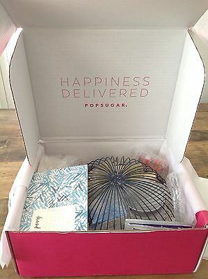 POPSUGAR Must Have Box Lots of Great Lifestyle & Beauty Products -ALL NEW