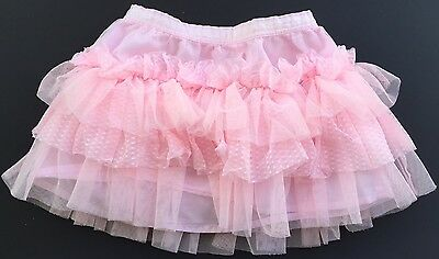 EUC Cherokee Pink Tutu 24 Months Tulle Skirt Girls Easter Pictures Birthday