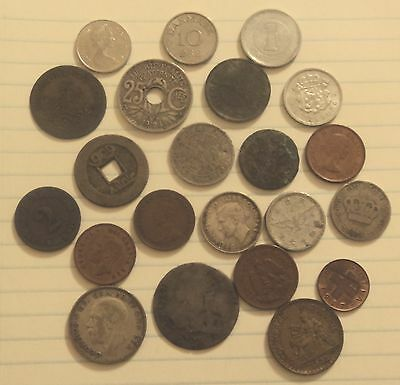 22 Assorted Foreign Coins