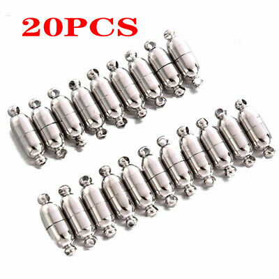 20x Necklace Bracelet Chain Clasp Magnetic Buckle Hook Jewelry Supplies AU