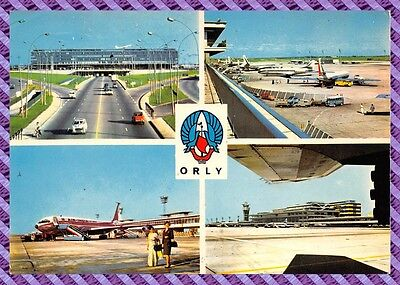 ORLY - l' aéroport - l' aire de stationement