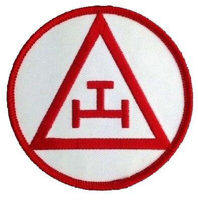 Masonic Royal Arch Chapter Embroidered Emblem Patch