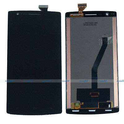 Black LCD Display Touch Screen Digitizer Glass Assembly For Oneplus One 1+ A0001