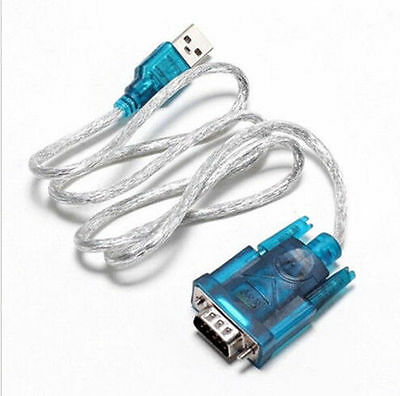 USB 2.0 TO SERIAL RS232 DB9 9 DRUK PIN ADAPTER CABLE PDA cord GPS CONVERTER