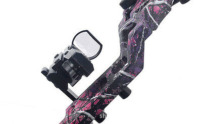 Bow Fishing Bow Laser & Light Mount Bow Hunting Sight Mount Bracket Hunting Kit