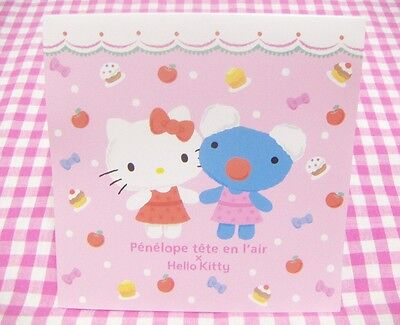 Sanrio Hello Kitty x Penelope Square Memo Pad / Japan Stationery 2016