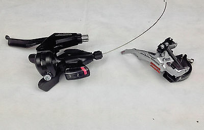 Shimano Atlus Front Derailleur FD-M190A and Gear Shifter ST-M310 Bike Bicycle