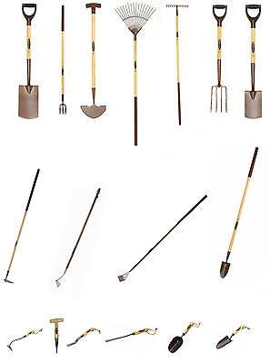 Spear & Jackson Spades Hoes Rakes Scoops For Digging and Cultivating