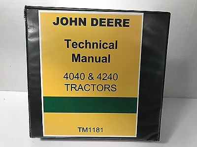 John Deere 4040 & 4240 Tractor Technical Service Shop Manual