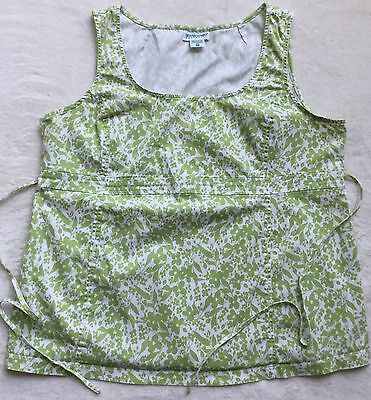 Womens Motherhood Maternity Floral Spring Summer Stretch Top Blouse Size XL