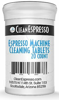 20  Breville  Espresso Cleaning Tablet Generics Cleaner BES870XL BES870 BES860XL