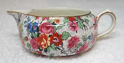 Vintage Chintz Lord Nelson Marina Creamer For Stacking Teapot In Great Shape T4