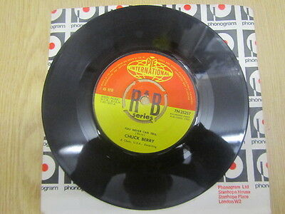 "Chuck Berry You Never Can Tell / Brenda Lee 7"" Uk 1St Excellent"