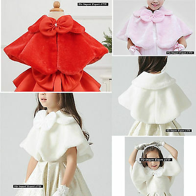 Mantella Coprispalle per Abiti Cerimonia Elegante Girl Party Cloak BB015