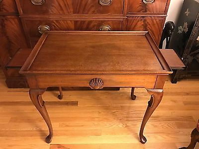 Hickory James River Queen Anne Tea Side Table 515