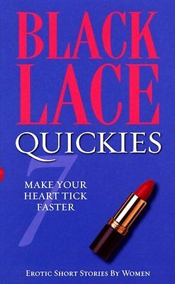 Black Lace Quickies 7 New Paperback Book