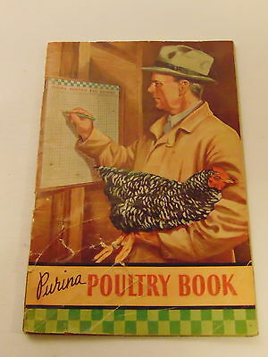 Purina  Poultry  Book  1938  Feeding Plans-Research-Management