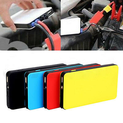 8000mAh Mini Multi-Function Car Jump Starter Battery Charger Power Bank Booster
