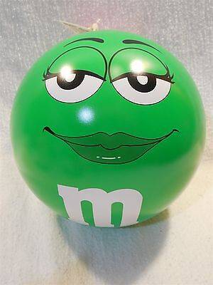 "M&M's Galerie 6"" Metal Round Green Bank"