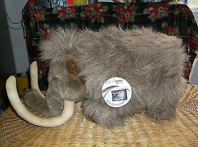 Discovery Channel Siber The Woolly Mammoth Dinosaur Stuffed Plush Good Condition
