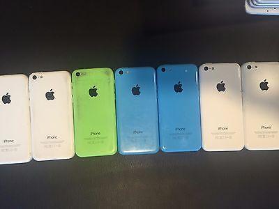 Wholesale LOT of (7) iPhone 5c boards/housing iRepair Stock with FREE Shipping