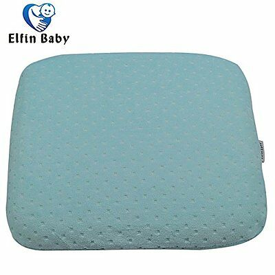 Elfinbaby Soft Anti-Roll Memory Foam Baby Head Positioner Pillow, Specialty