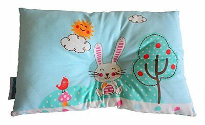 Smiley Bunny Newborn Baby Pillow Anti Flat Head to Prevent Flathead Syndrome,