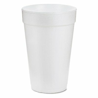 White Styrofoam Cups- Dart 20oz *Pick Qty- 1, 50, 100, 250, or 500* (21176)