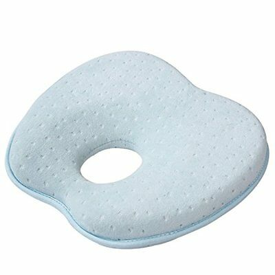 Boseen Soft Memory Foam Baby Head Positioner Pillow for Newborn (9 Inches,