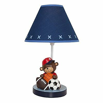 Lambs & Ivy Future All-Star Lamp with Shade and Bulb