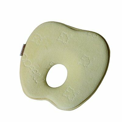 Mittagong Infant Prevent Flat Head Support Apple Shape Memory Foam Baby Pillow,