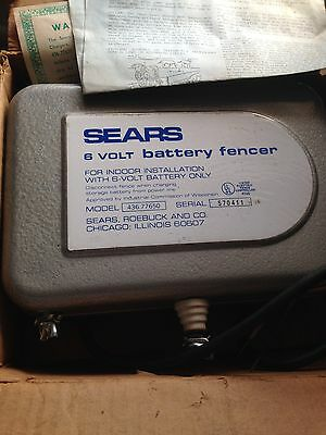 electric fence charger Sears New model 436.77650