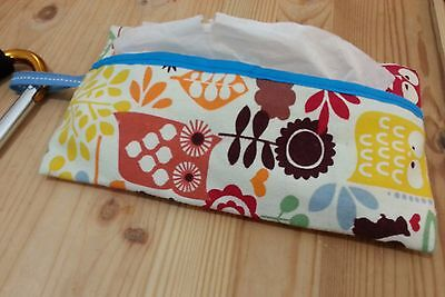 New Baby stroller Tissue Holder 100% cotton Hand Made With D-shaped Carabiner