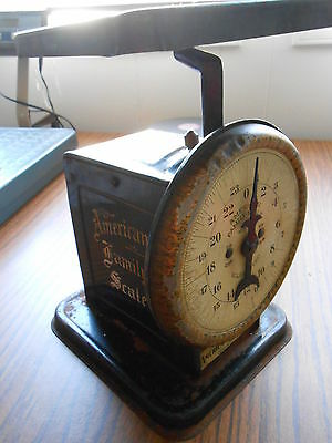Antique, Vintage American Cutlery Scale Family Chicago 24 lbs Works
