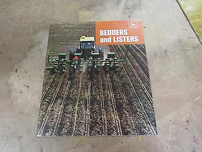 1968 John Deere Bedders and Listers brochure