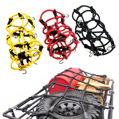 Elastic Luggage Net w/ Hooks for 1/10 TRX-4 SCX10 CC01 RC 4WD D90 D110 RC Cars
