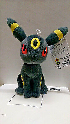 "New AuthenticTOMY Pokemon XY Umbreon 8"" Plush Doll Toy#4385"