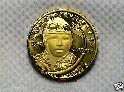 Daniel Carr - 2001 D Bessie Coleman - Prototype Dollar - Proof-Like Finish