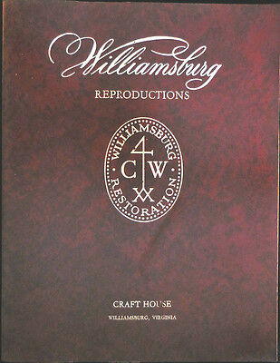 Williamsburg REPRODUCTIONS - Interior Designs with 1980 price list