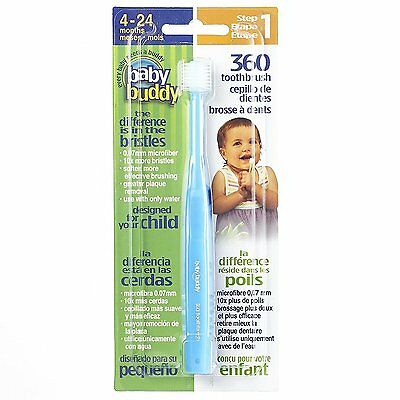 Baby Buddy 360 Toothbrush Step 1 Stage 5 for Babies/Toddlers , Kids Love Them,