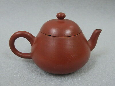 Antique Chinese Yixing Zisha Clay Pottery Teapot 19Th C