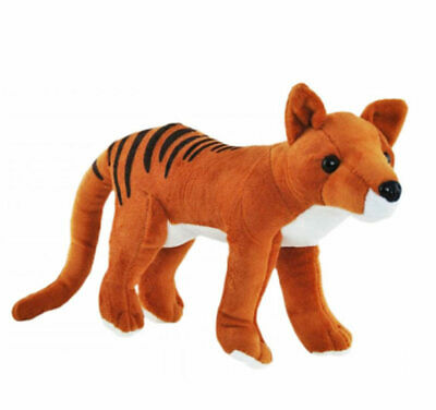 "Tasmanian Tiger Thylacine soft plush toy 9""/23cm Elka -NEW"