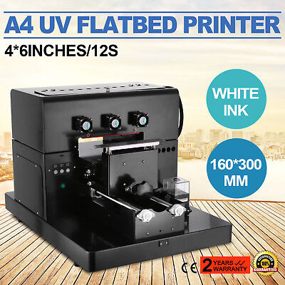 A4 UV Flatbed Printer Inkjet Printing Machine Plastic Rip Software Phone Case