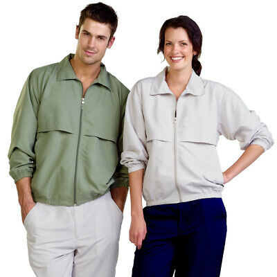 Adults UV Woven Vented Jacket With Vented Panels UV Sun Protection Leisurewear