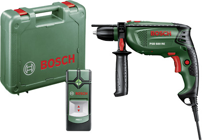 Bosch Home and Garden PSB 680 RE + PMD 7 1-Gang-Schlagbohrmaschine 680W inkl. Ko