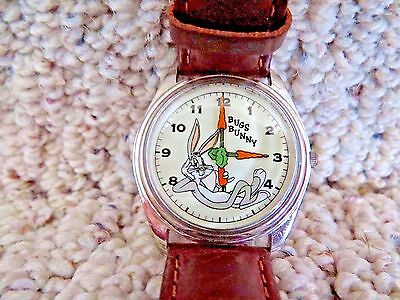 Bugs Bunny Watch The Warner Bros. Watch Collection 1993 Genuine Leather Band